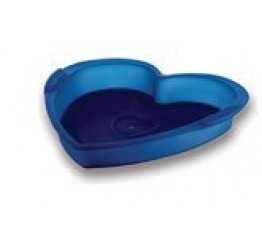 Bakeware Heart shape 100% silicone 20.5x19cm 3.5cm H Guaranteed quality