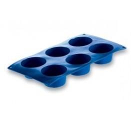 Bakeware Muffin 6 each 7cm dia3.7cm H 100%silicone Guaranteed quality