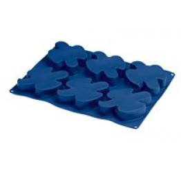 Bakeware Doves 6 each 8.5x10.5cm 2.2cm H 100%silicone Guaranteed quality