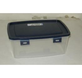 Lunch Box 2L 22x16 cm H9cm Clear plastic Lock box Guaranteed quality