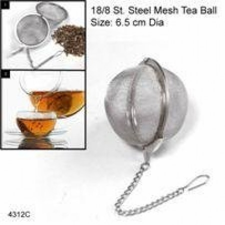 Tea strainer /Spicy Ball 6.5cm Dia s/s guarnteed quality