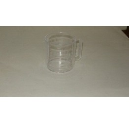 Measuring Mug 1dl to 3dl Clear plastic Guaranteed quality