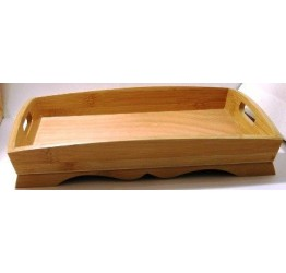 Tray 32x25cm 4cm H Superior Quality  Wood