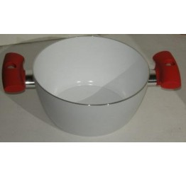 Casserole Ceramic Coating Non stick 20cm diameter 10cm deep Double handle Guaranteed Quality Scratches