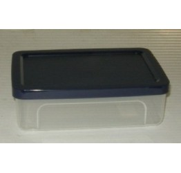 Lunch Box 1L 19x13 cm H6cm Clear plastic Guaranteed quality