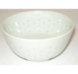 "Bowl 11.5cm/4.5""Dia & Deep Ceramic Rice Pattern Guaranteed quality"