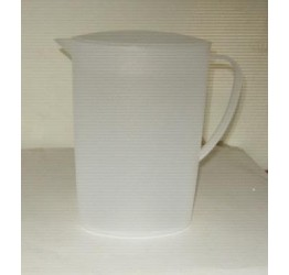Jug Container 2L H 22.5cm 11cm width Clear plastic Guaranteed quality
