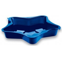 Bakeware Star 5 pointed 1pc 11.5x11.5cm dia 3cm H 100%silicone  Guaranteed quality