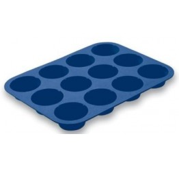 Bakeware Muffin 12 each 7cm dia3.3cm H 100%silicone Guaranteed quality