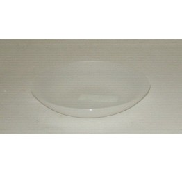 Bowl shallow 17.5cm Diameter 4cm Deep Clear plastic Guaranteed quality