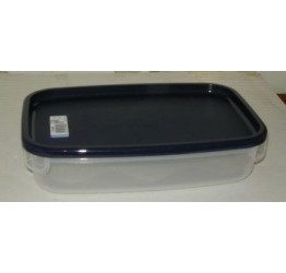 Lunch Box2.1L 28x18 cm H7cm Clear plastic Guaranteed quality