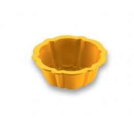 Bakeware Flower 1pc 10.5cm dia 4.5cm H 100%silicone  Guaranteed quality