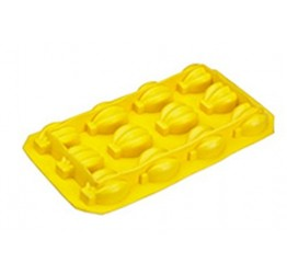 Ice cube Tray Bananas 18x10cm 100%silicone  Guaranteed quality