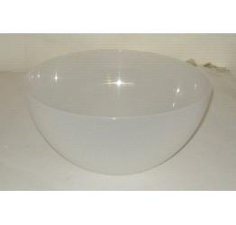 Bowl 25cm Diameter 12cm Deep Clear plastic Guaranteed quality