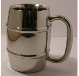Mug S/S Double Layers thickness 10cm dia&Hight Guaranteed quality