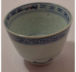 Tea Cup 80cc Ceramic Rice Pattern Guaranteed quality