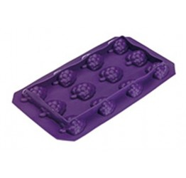 Ice cube Tray Grape Fruit  18x10cm 100%silicone  Guaranteed quality