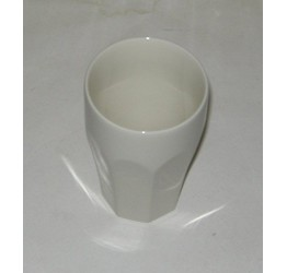 Mug ceramic &Lid plastic (350ml or2cup) 13cm long Guaranteed quality