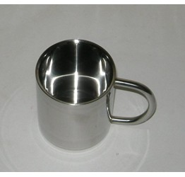 Mug Stainless steel (300cc) 9x8cm Guaranteed quality