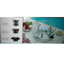 Gas Cooker Portable Red colour 20cm diameter 10cm Height(8.1x4 inches) Guaranteed quality