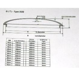 "Lid 14cm/5.5"" diameter Guaranteed quality"