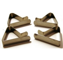 Table Cloth Clips S/S 4pcs expandable up to 5cm  Guaranteed quality