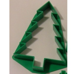 Cookie cutter Christmas tree plastic 7cm  guaranteed quality