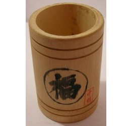Cutlery Holder 10cm dia 15cm H Chinese Character  Superior quality Bamboo