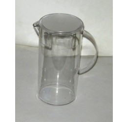 Jug Container 1.5L H 22cm 11cm width Clear plastic Guaranteed quality