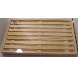 Bread Cutting board&crumb Holder 40x22x3cm Guaranteed quality