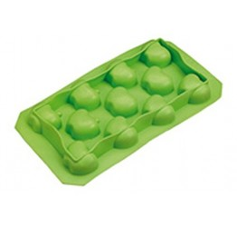 Ice cube Tray Apple 18x10cm 100%silicone  Guaranteed quality
