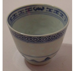 Tea Cup 120cc Ceramic Rice Pattern Guaranteed quality