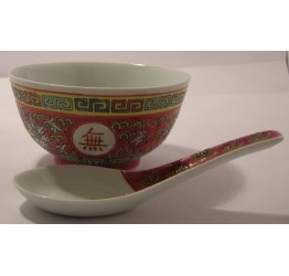 Bowl&Spoon set  Ceramic Guaranteed quality
