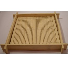 Sushi Mat Wooden Server 19x19cm 3cm deep Superior quality Bamboo