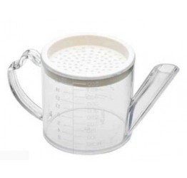 Gravy Separator with strainer Plastic 9x9.4cm 2cups Guaranteed quality
