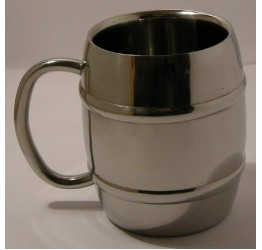 Mug S/S Double Layers thickness 12cm dia&Hight Guaranteed quality