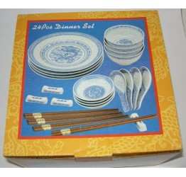 Dinner set 24pcs Ceramic Guaranteed quality