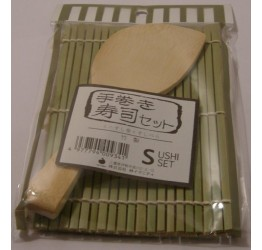 Sushi Mat with rice Paddle  Superior quality Bamboo