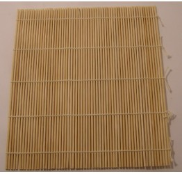 Sushi Mat round stick Bamboo 24x21CM Guaranteed Quality