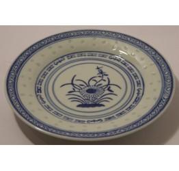 "Plates 25cm/10"" Dia Ceramic Rice Pattern Guaranteed quality"