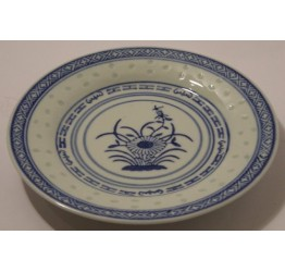 "Plates 20cm/8"" Dia Ceramic Rice Pattern Guaranteed quality"